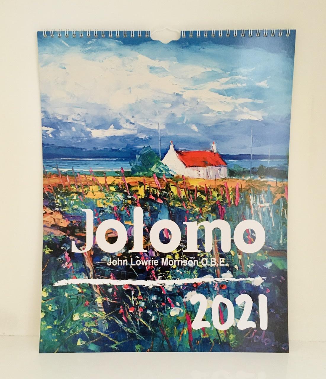 Calendrier 2021 JOLOMO Marque-page